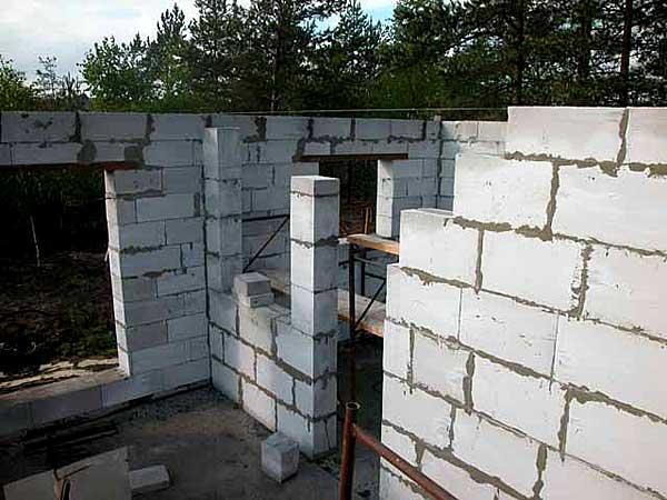 Строительство дома аэробел своими руками
